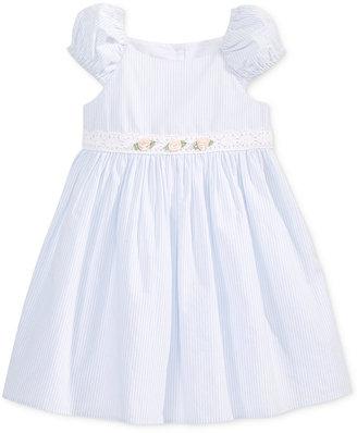 Laura Ashley Seersucker Striped Cotton Dress, Toddler & Little Girls (2T-6X) $52 thestylecure.com