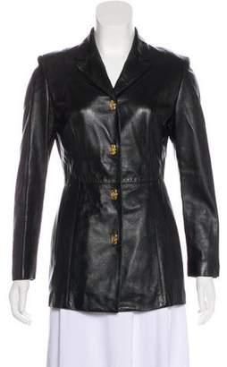 Salvatore Ferragamo Lightweight Leather Jacket