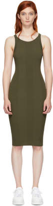 Alexander Wang Green Visible Strap Dress