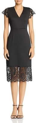 Nanette Lepore nanette Lace-Trimmed Dress