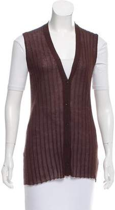 Prada Cashmere & Silk Sweater Vest