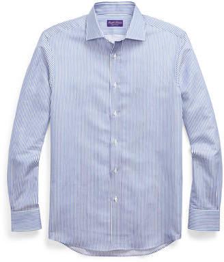 Ralph Lauren Striped Cotton-Linen Shirt