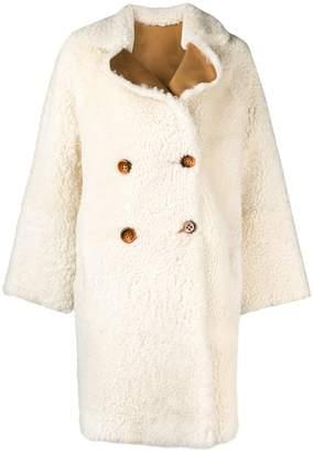 Liska loose fitted coat