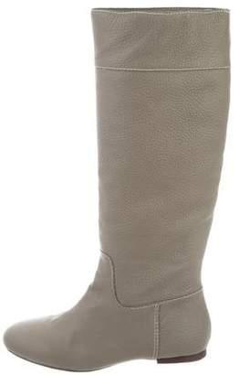 Pour La Victoire Leather Knee-High Boots