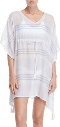 Beach Lunch Lounge Paloma Stripe Cover-Up Dress