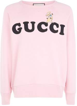 Gucci Embroidered Logo Sweater