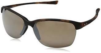 Oakley Women's Unstoppable Non-Polarized Iridium Rectangular Sunglasses