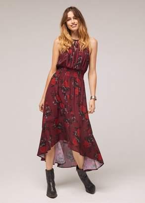 Band of Gypsies Bandofgypsies Mason Hi-Low Floral Maxi Dress
