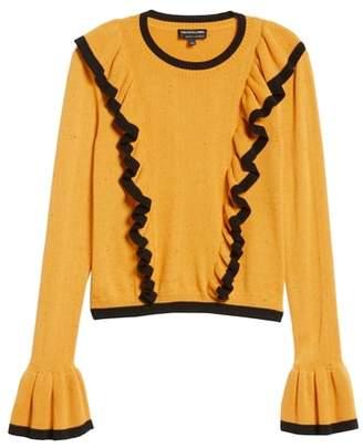 The Fifth Label Transcript Ruffle Sweater