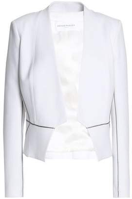 Amanda Wakeley Satin-Trimmed Cady Jacket