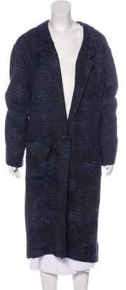 Smythe Knit Long Coat