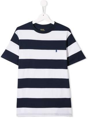 Ralph Lauren Kids TEEN striped T-shirt