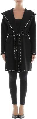 P.A.R.O.S.H. Black Wool Coat