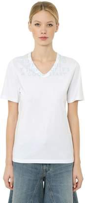 MM6 MAISON MARGIELA Aids Charity Cotton Jersey T-Shirt