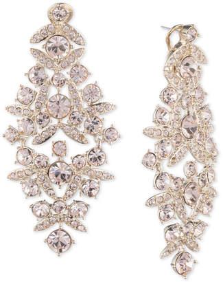 Gold crystal chandelier earrings shopstyle givenchy crystal chandelier earrings aloadofball Images