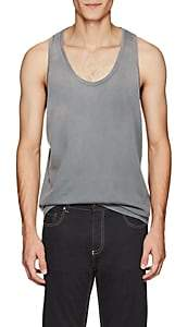 Tomas Maier MEN'S COTTON TANK-GRAY SIZE XL