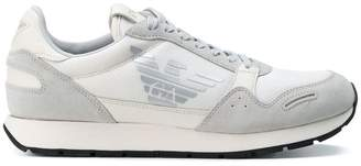 Emporio Armani mesh panel sneakers