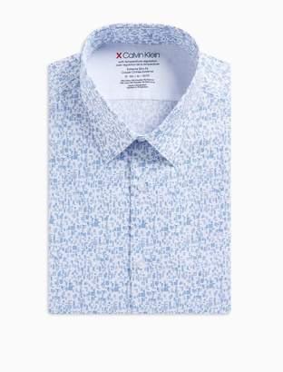 Calvin Klein Extreme Slim fit printed dress shirt