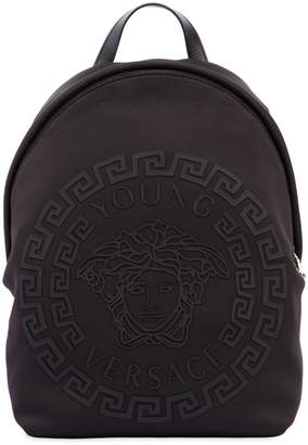 Versace Rubberized Print Neoprene Backpack