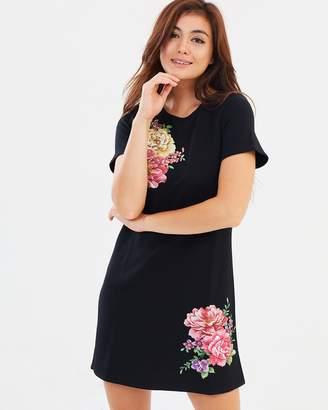 Dorothy Perkins Shimmer Floral Shift Dress