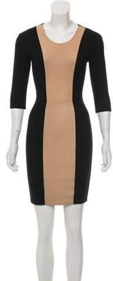 Mason Long Sleeve Colorblock Dress