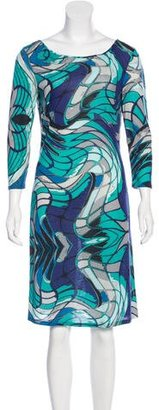 Emilio Pucci Wool-Blend Knit Dress w/ Tags $275 thestylecure.com