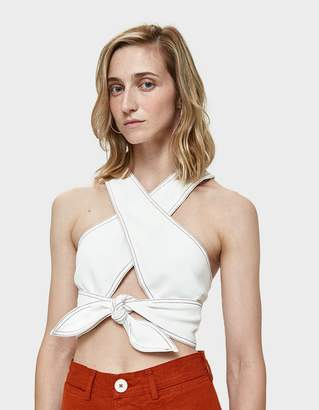 Farrow Adele Crossover Crop Top