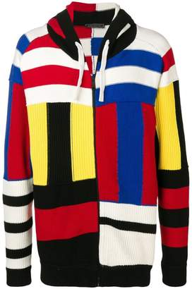 Tommy Hilfiger striped zipped cardigan