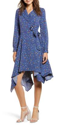 CHRISELLE LIM COLLECTION Chriselle Lim Wren Floral Print Trench Dress