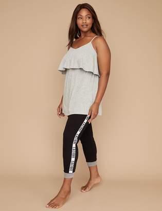 Ruffle Cami & Legging PJ Set - Logo Band