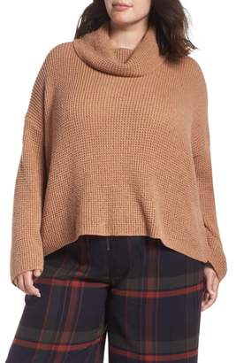 BP Chunky Thermal Cowl Neck Sweater