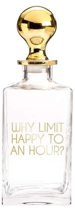 Rosanna Why Limit Happy To An Hour Decanter