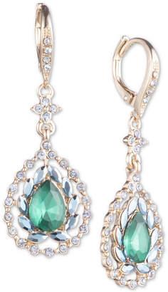 Jenny Packham Crystal & Stone Drop Earrings
