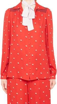 Valentino Rose Bud Shirt