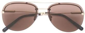Bulgari tinted aviator sunglasses