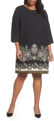 Vince Camuto Ornate Paisley Shift Dress