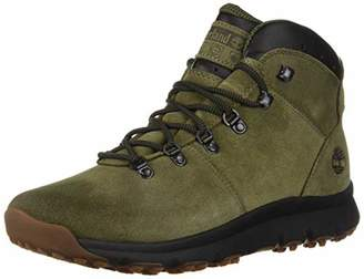 Timberland Men's World Hiker Mid Ankle Boot Brown