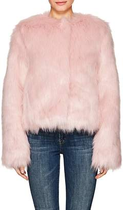 7 For All Mankind 7 FOR ALL MANKIND WOMEN'S FAUX-FUR JACKET