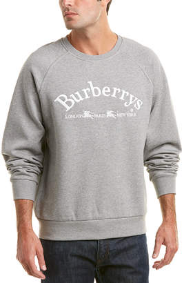 Burberry Embroidered Archive Logo Sweatshirt