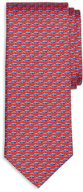 Brooks Brothers Brooks Brothers Speedboat Print Classic Tie