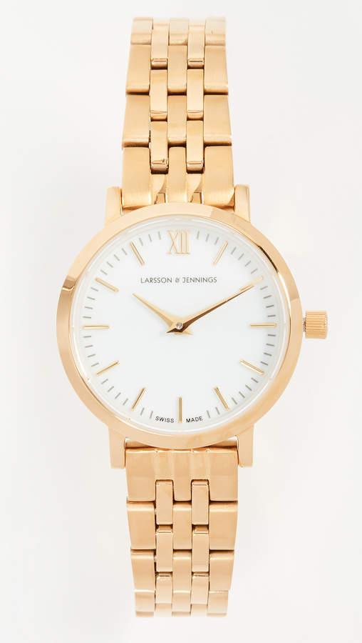 Lugano Small 5 Link Watch, 26mm