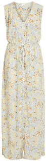Vila 14052428 VIMOSALY WHITE FLORAL PRINTED PRIMROSE DRESS 13457801 - large