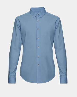Theory Stretch Cotton Clean Placket Shirt