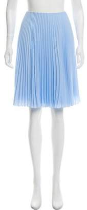Prada Pleated Knee-Length Skirt w/ Tags