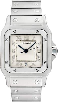 Cartier Heritage  1990S Men's Galbee Watch