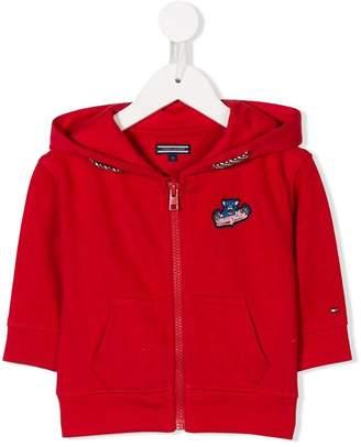 Tommy Hilfiger Junior logo patch hoodie