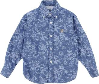 Harmont & Blaine Denim shirts - Item 38726533