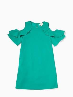 Kate Spade Girls ruffle sleeve dress