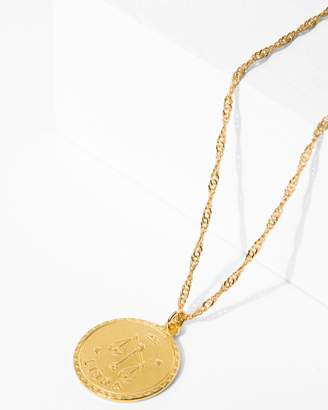7 For All Mankind CAM Libra Necklace in Gold