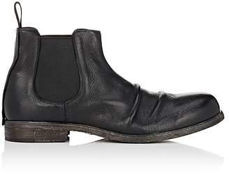 Shoto Men's Wrinkled-Vamp Chelsea Boots